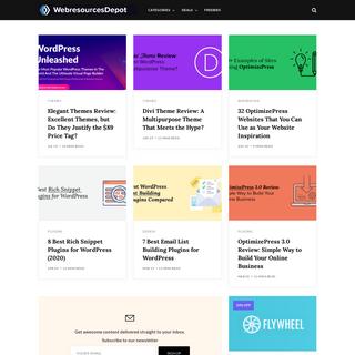 WebresourcesDepot - Design, Inspiration, & Guides