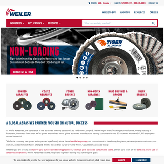 Weiler Abrasives - High-Quality Abrasives for Every Application - Weiler Abrasives