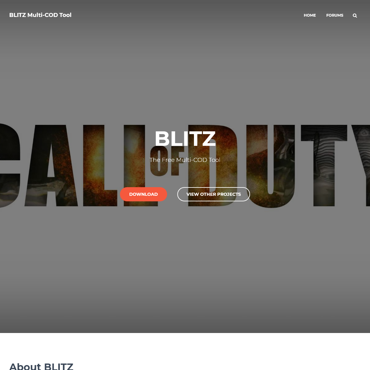 BLITZ Multi-COD Tool – The free and best Call Of Duty tool.