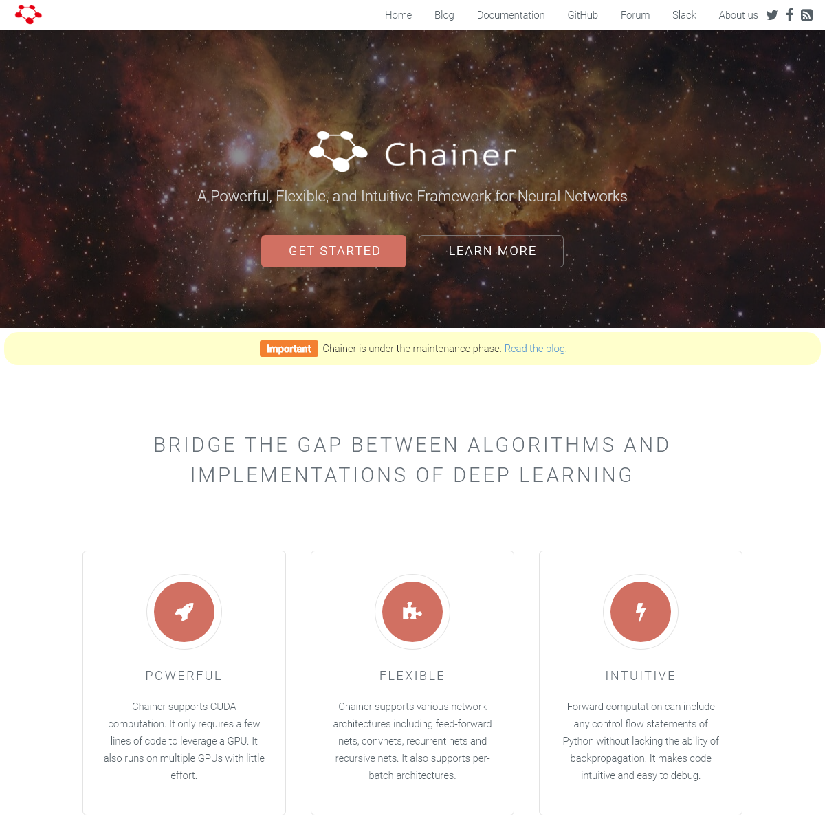 Chainer- A flexible framework for neural networks