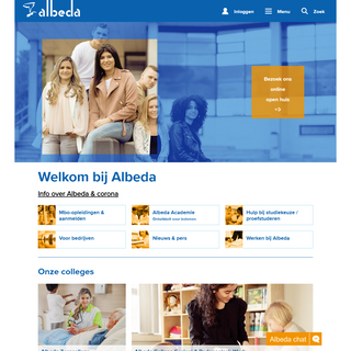 Albeda - Rotterdam, Schiedam, Vlaardingen, Naaldwijk, Maassluis, Rijnmond -