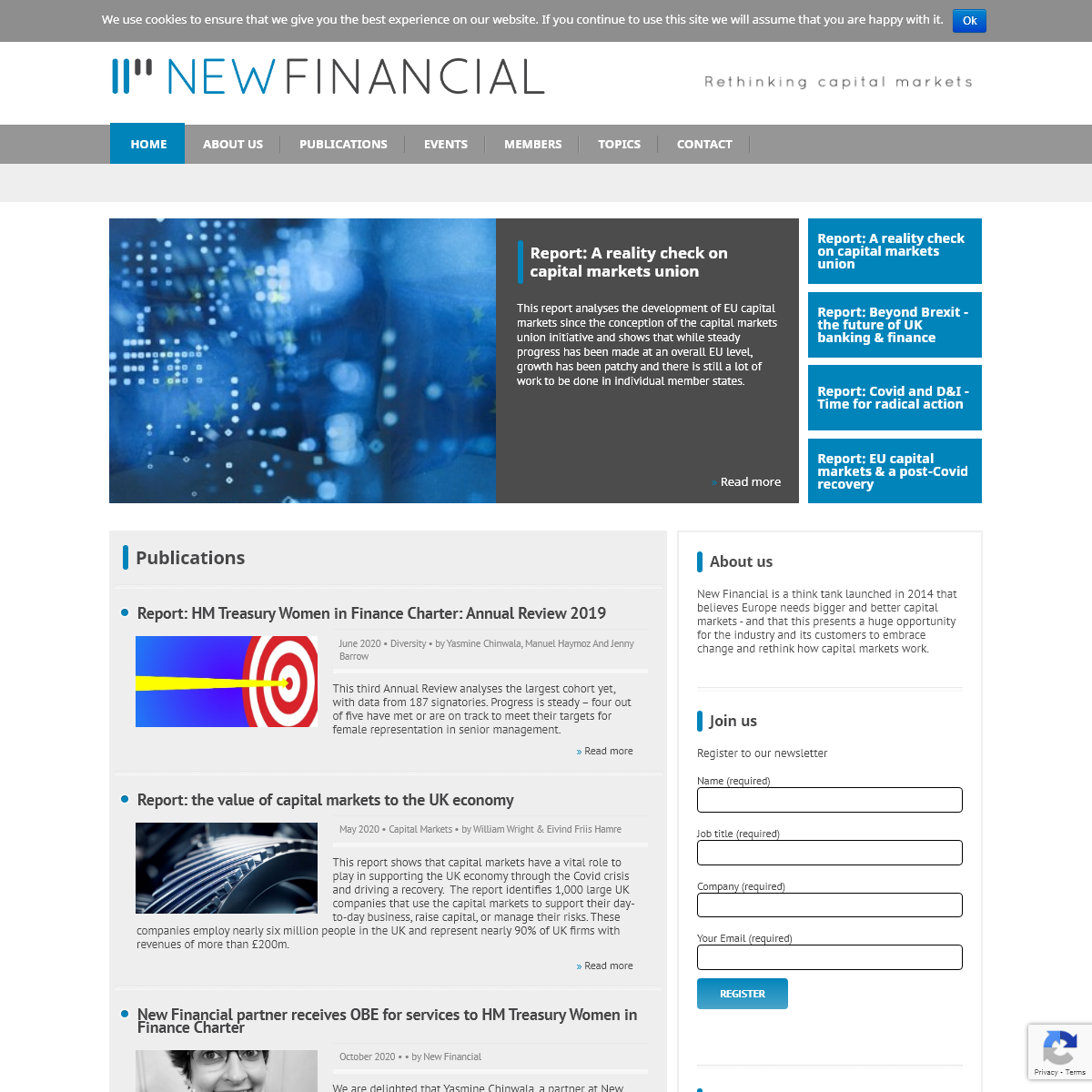 New Financial - Forum and Think tank