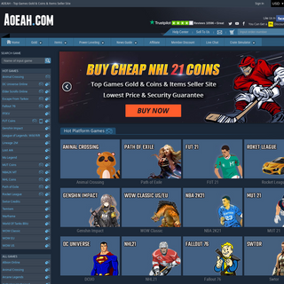 Buy Fifa Coins, Safe WoW Classic Gold, Rocket League Items-Crates-Keys For Sale - Aoeah