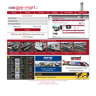 GSE Mart - Global Ground Support Equipment Database