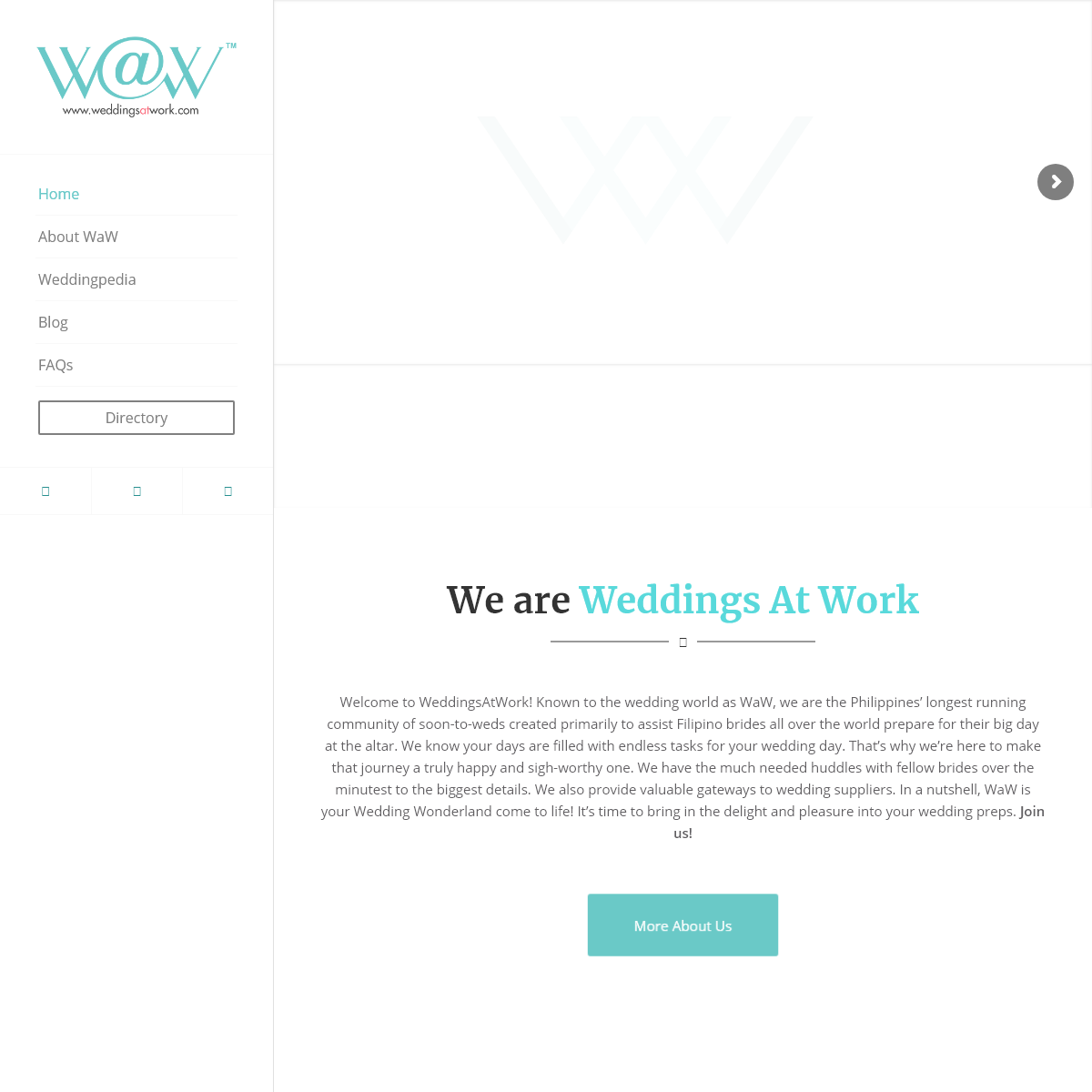Weddings At Work – Leading online wedding resource for Filipino brides anywhere in the world.