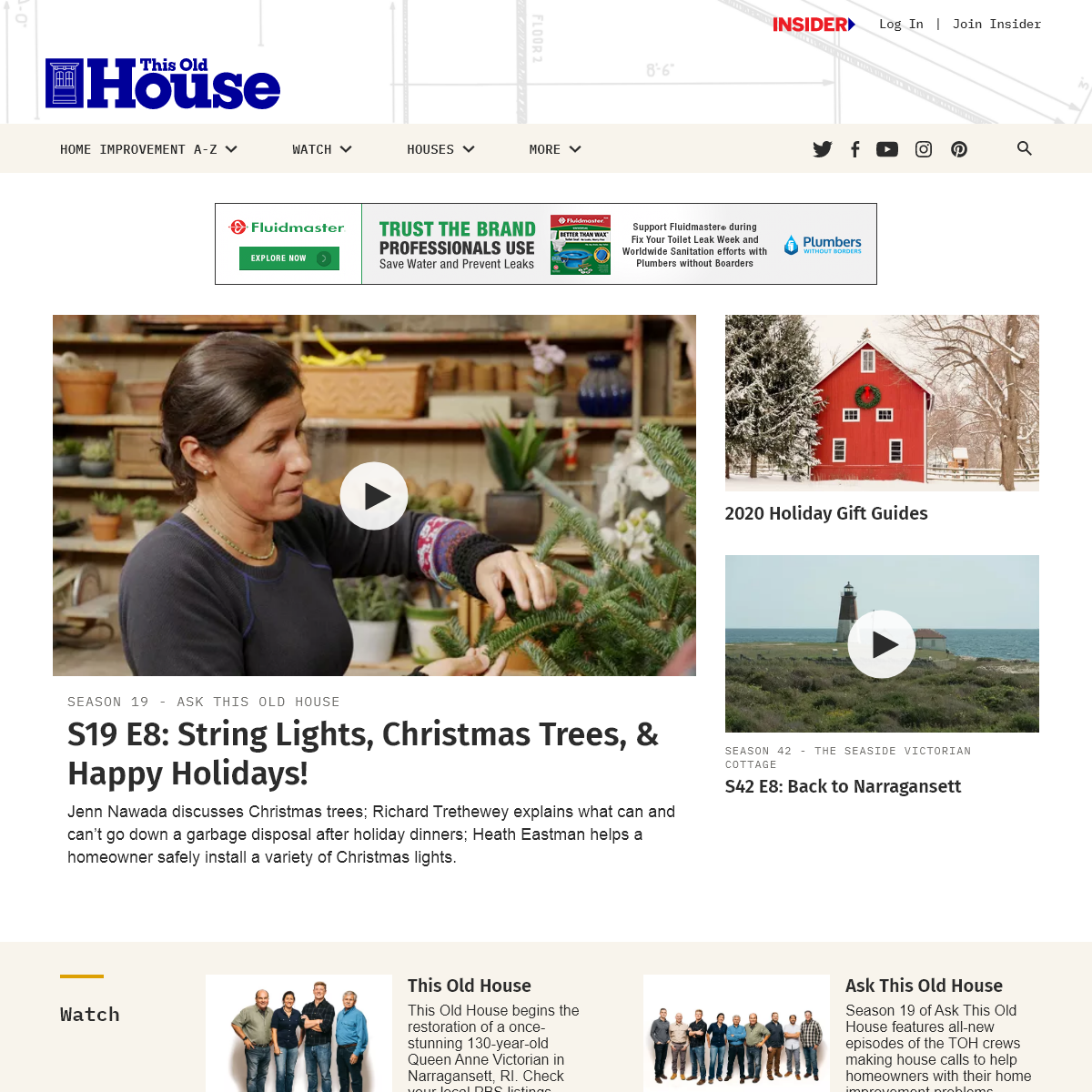 Home Improvement and Remodeling - This Old House