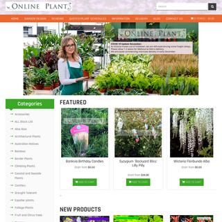 Online Plants- Australian Plants Online, Plant Nursery Melbourne