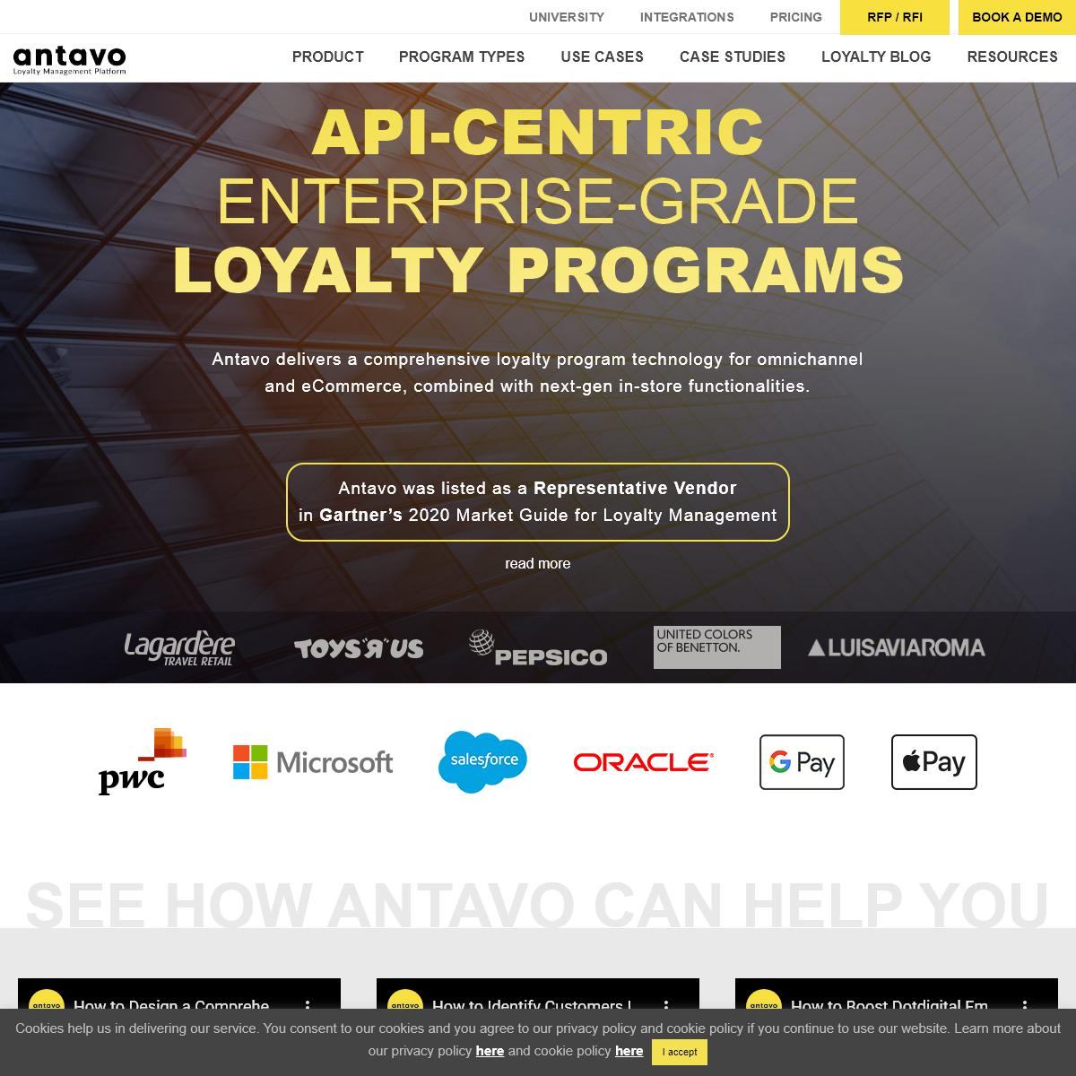 Antavo Loyalty Management Platform - Loyalty Programs for Retail - Antavo