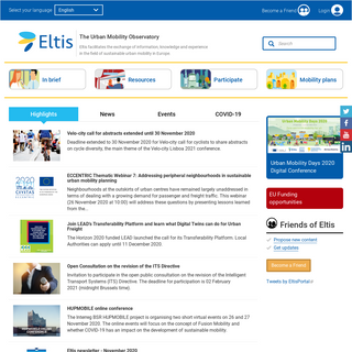 Eltis - The urban mobility observatory