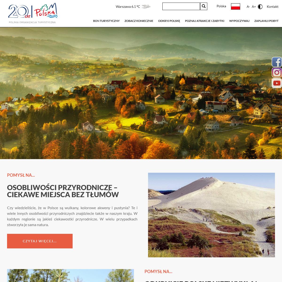 #polskatravel- zwiedzaj miasta, regiony, zabytki i atrakcje w Polsce