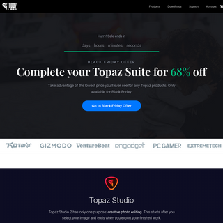 Topaz Labs – Photography software powered by machine learning