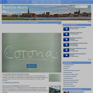 Rostock-Heute - Rostocker Stadtmagazin