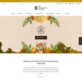 The Alchemist`s Kitchen - Celebrate the Power of Plants