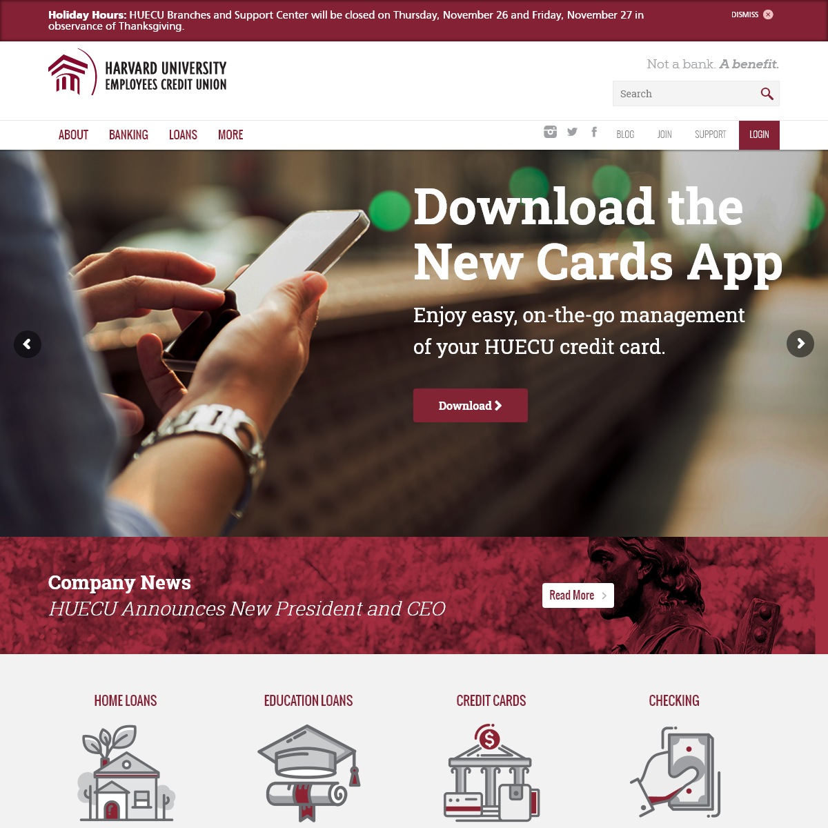 Harvard University Employees Credit Union - Boston, Massachusetts