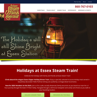 Essex Steam Train & Riverboat – All tracks lead to new adventures!