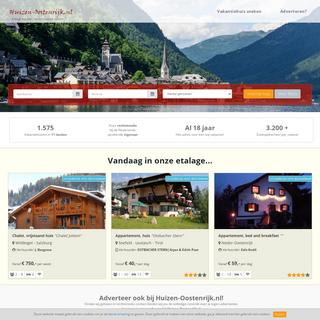 Huizen-Oostenrijk, brengt huurder en verhuurder samen