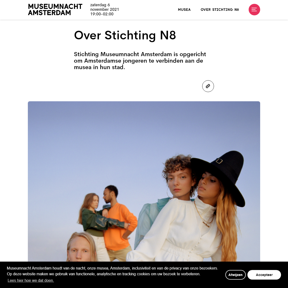 Over Stichting N8 - Museumnacht Amsterdam 2019