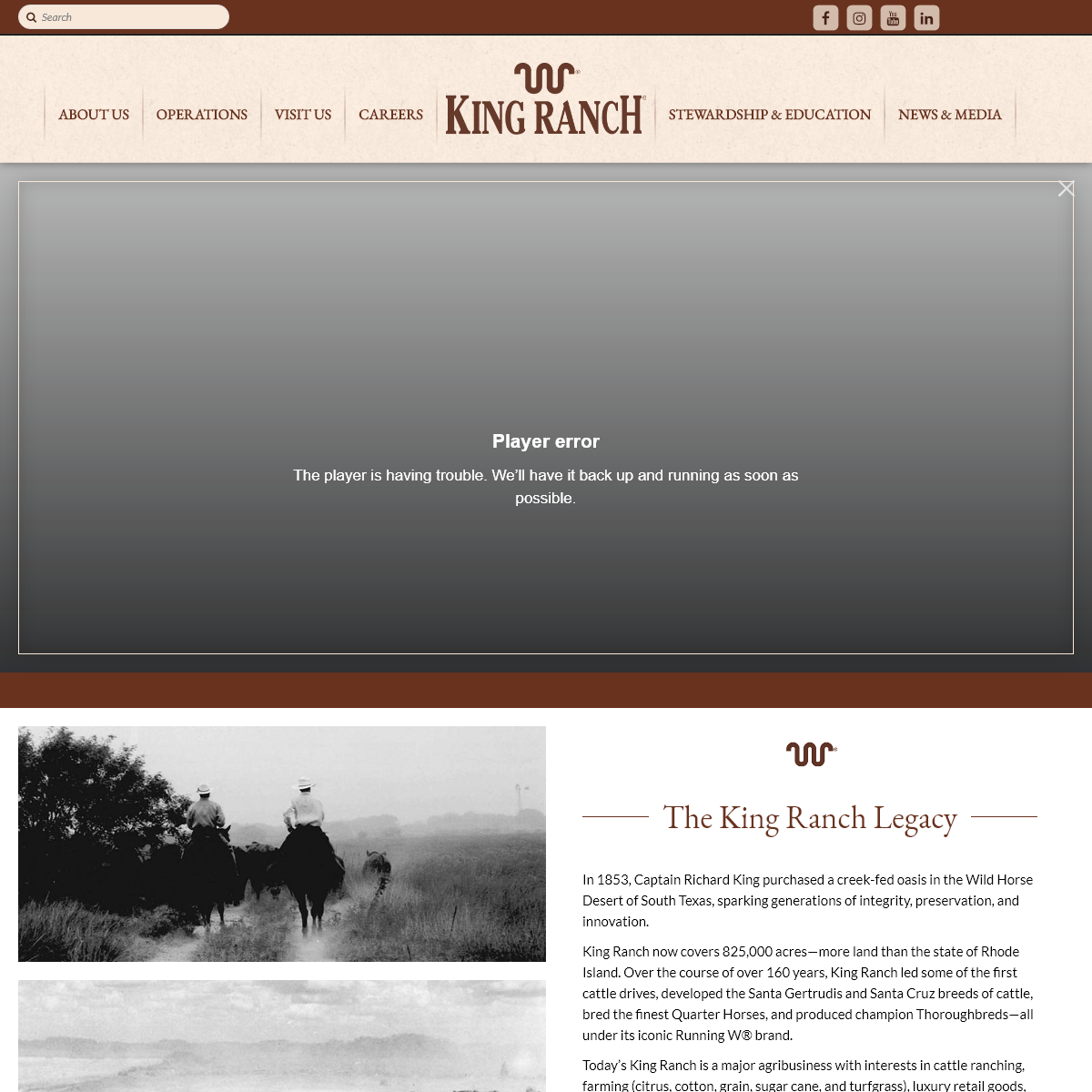 The King Ranch Legacy - King Ranch