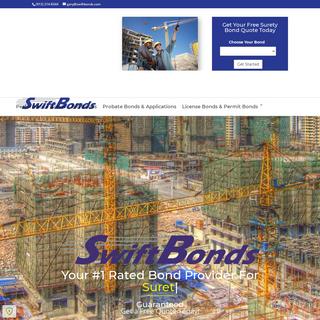 Surety Bonds by Swiftbonds - Your Surety Bond EXPERTS
