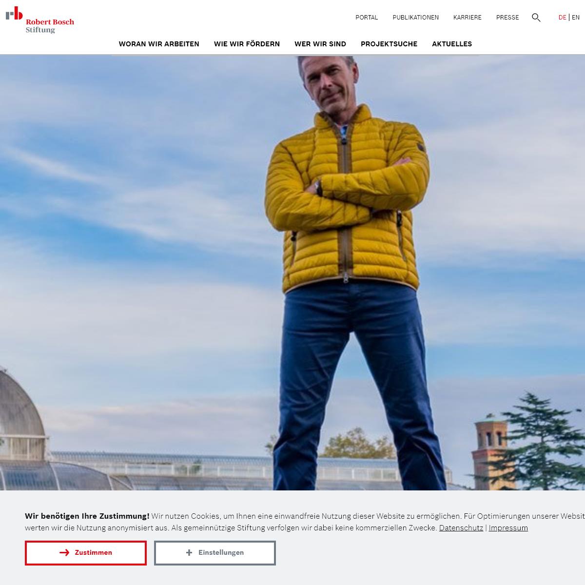 Startseite - Robert Bosch Stiftung