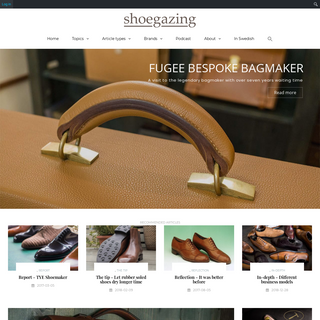Shoegazing.com – A blog about quality shoes