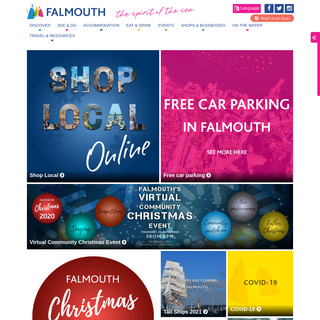 Welcome to Falmouth, The Spirit of The Sea - Falmouth Bid