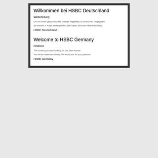 HSBC Deutschland - Wegweiser - HSBC Germany - Signpost