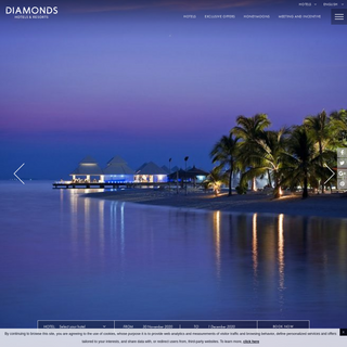 Diamonds Hotels & Resorts in the Indian Ocean - Book a real all inclusive resorts hotel