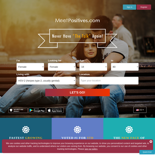 #1 STD Dating Website for Positive Singles - Join Free Today!