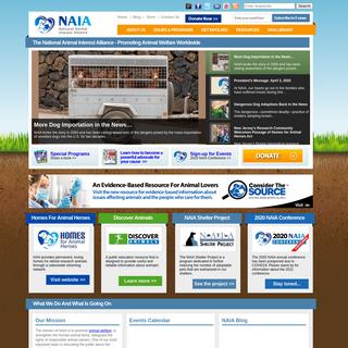Animal Welfare - Animal Rights - National Animal Interest Alliance