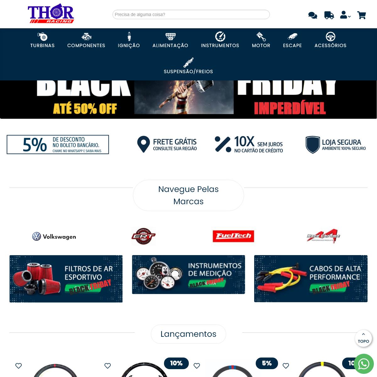 Thor Racing - Peças de Alta Performance