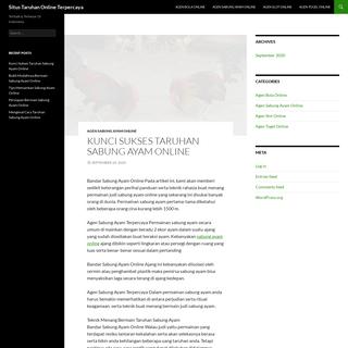 Situs Taruhan Online Terpercaya - Terbaik & Terbesar Di Indonesia