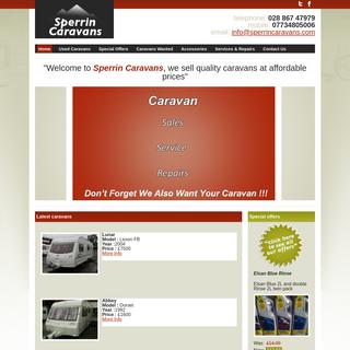 Sperrin Caravans