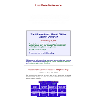 The Low Dose Naltrexone Homepage