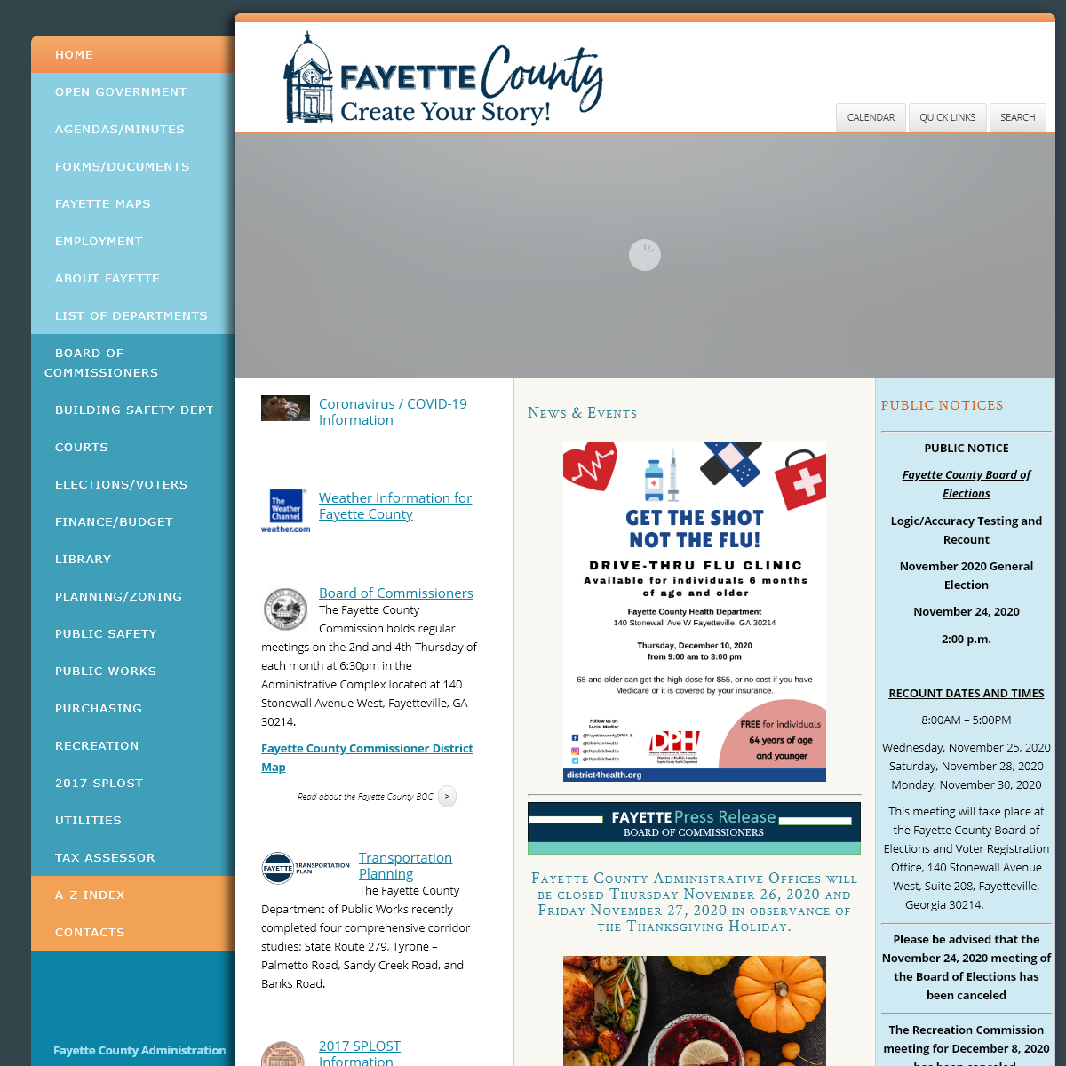 Official Website of Fayette County, Georgia