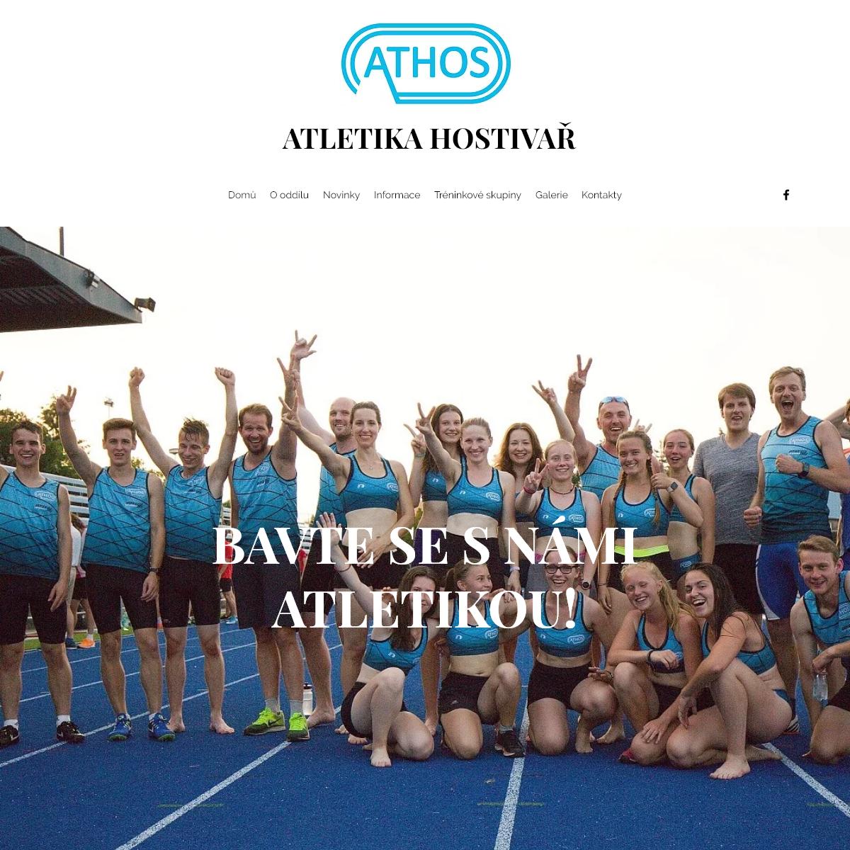 Domů - Atletika Hostivař
