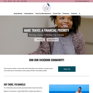 The Thought Card - Make Travel A Financial Priority