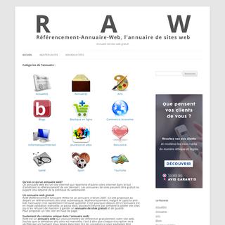 Référencement-Annuaire-Web - Annuaire de sites web gratuit