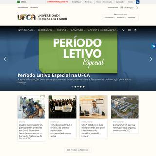 Universidade Federal do Cariri – UFCA