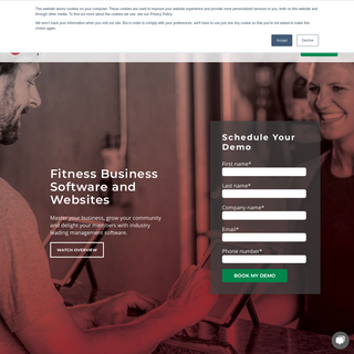 Fitness Business Software and Websites for Gyms, Studios & Schools