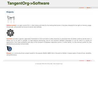 Projects — Tangent.Org