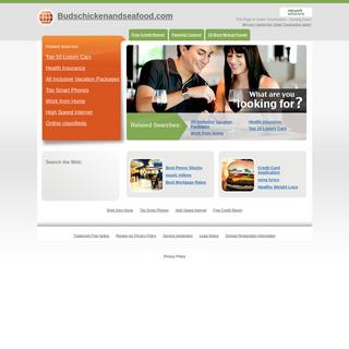 Budschickenandseafood.com