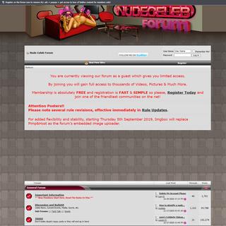 A complete backup of www.nudecelebforum.com