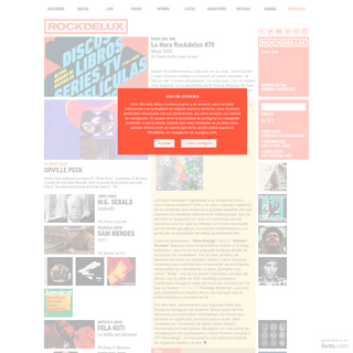 ROCKDELUX. Revista y web de música en español