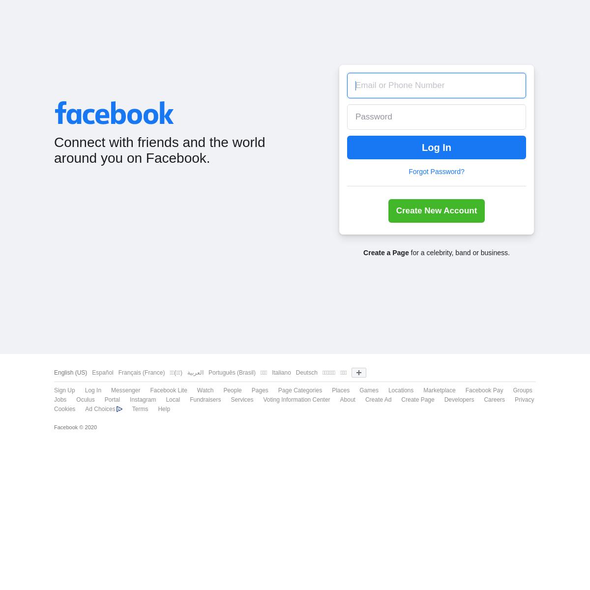 Facebook - Log In or Sign Up
