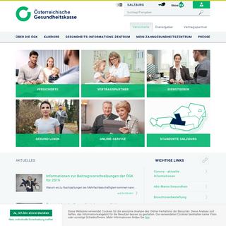 Österreichische Gesundheitskasse - Salzburg