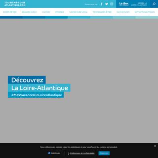 Site officiel du tourisme en Loire-Atlantique