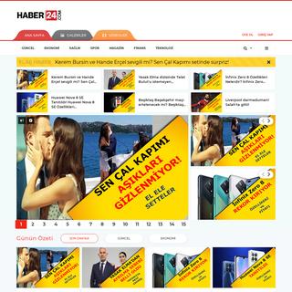 HABER24 - Haberler, İnternet Haber, Bağımsız Son Dakika Haberler