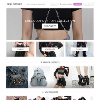 Ninja Cosmico - Grunge Style, Alternative Apparel & Aesthetic Clothing