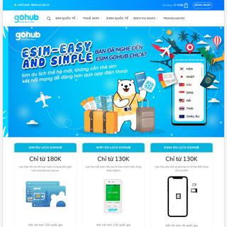 Gohub - Wifi & SIM Du Lịch Quốc Tế